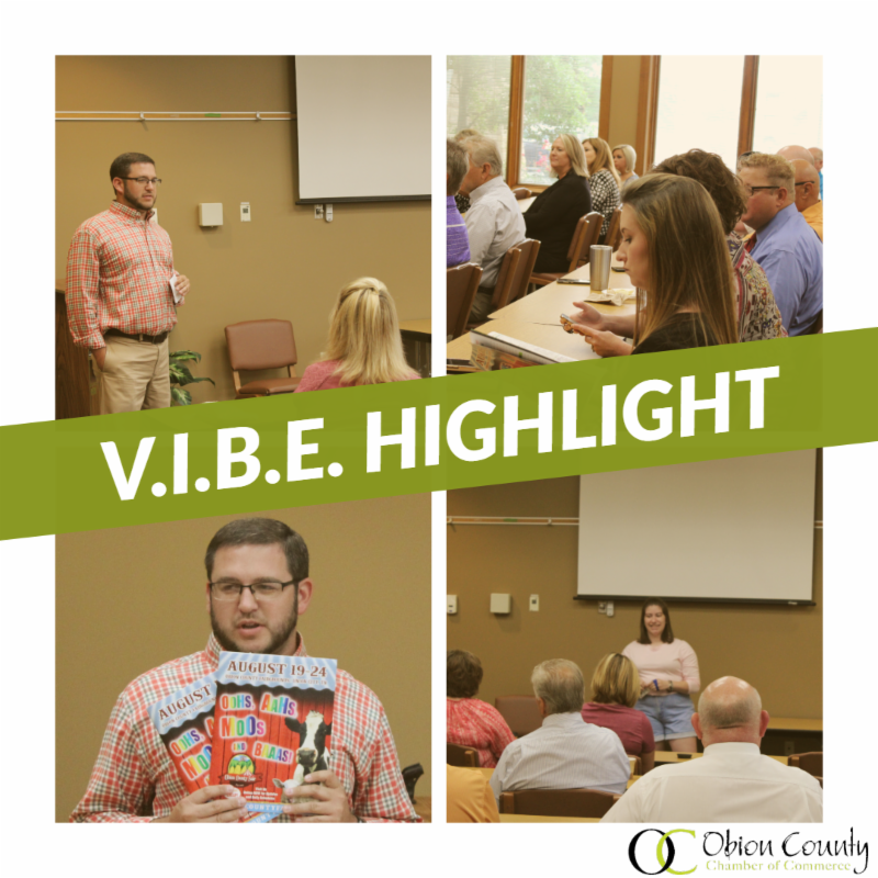 July's Very Important Business Event (V.I.B.E)