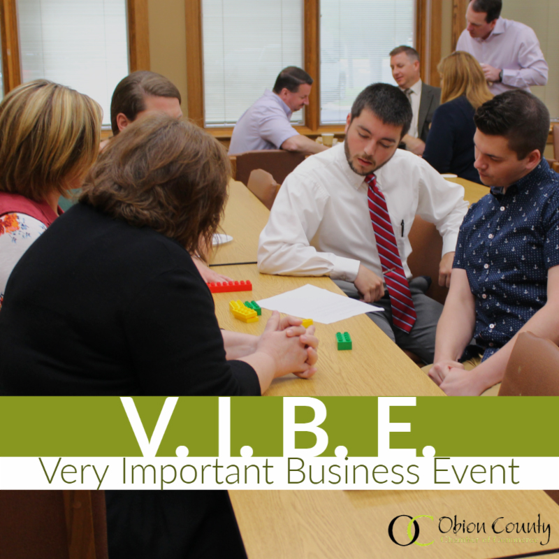 May's Very Important Business Event (V.I.B.E)