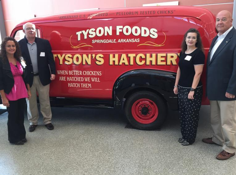 Obion County and TN ECD Officials Visit Tyson Foods Headquarter Office