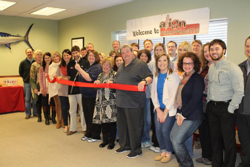 Align Chiropractic - Ribbon Cutting