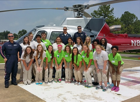 Baptist Memorial Hospital-Union City offered its Crash Course Nurse Camp to Local Students