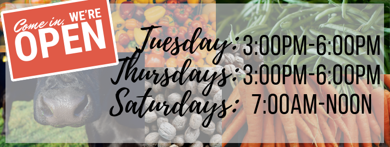 Obion County Farmer's and Artisan's Market is open!
