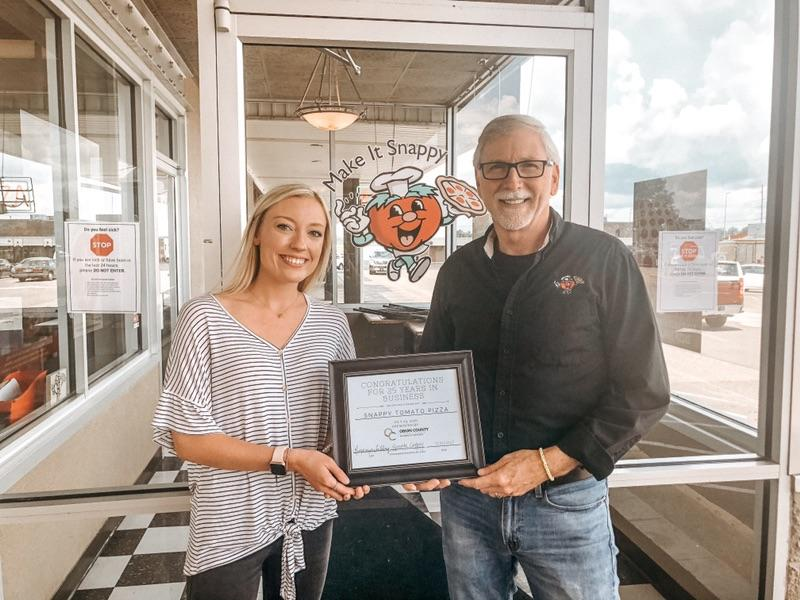 Snappy Tomato Pizza Celebrates 25 years in business!