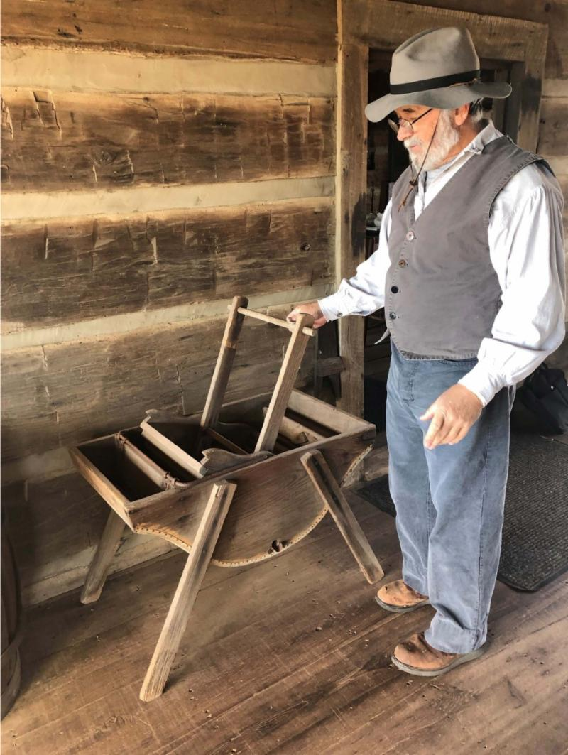 Mike Ramsey is bringing History Alive in the Settlement at DPA